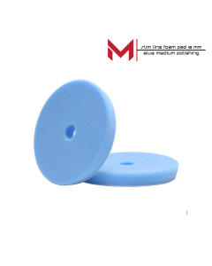 Moore Slim Line polijstpad Blauw Medium Polishing 130/140x18 mm