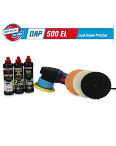Polishing Power DAP500 EL met Menzerna Starterskit Powerpack
