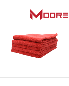 Moore Plush Microvezel doek rood 400 g/m2