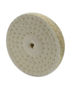 Professionele polijstschijf sisal/katoen 125x20x10 mm