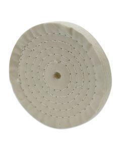 Professionele polijstschijf katoen 150x20x10 mm
