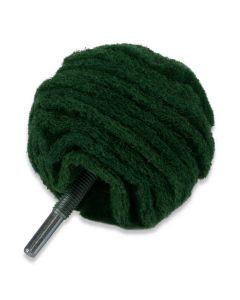 Medium Scruff Ball (schuurvliesbal) Green 75 mm