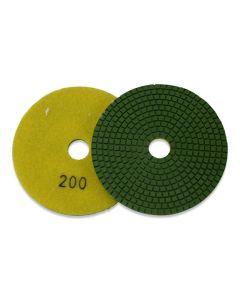 Diamant polijstschijf natuursteen polijsten Korrel 200