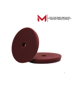 Moore Slim Line Foampad Maroon Heavy Cutting 130/140 x18 mm