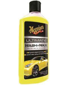 Meguiars Ultimate Wash en Wax Autoshampoo 473 ml