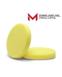 Moore Classic Polijstpad Geel Heavy Cutting 135 mm