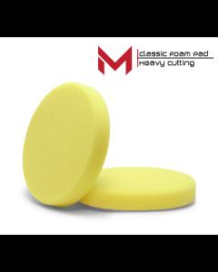 Moore classic Polijstpad heavy cut Geel 80 mm