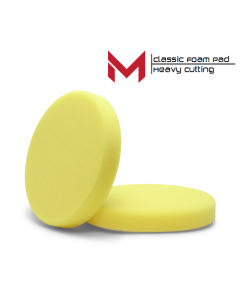 Moore Classic Polijstpad geel Heavy cut 150 mm