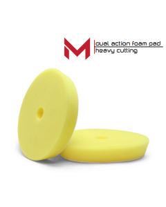 Moore Dual Action Polijstpad Geel Heavy Cutting 85/100 mm