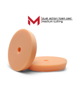 "Moore Dual Action Polijstpad Oranje Medium Polishing Pad 6""' 135/150 mm"