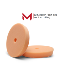 Moore Dual Action Polijstpad Oranje Medium Cutting Pad 150/165 mm