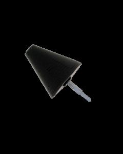 Polijstcone BLACK finishing 100 mm