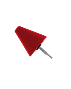 Polijstcone rood, ultra zacht 100 mm