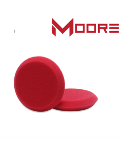 Moore Waxpad rood super fijn 115 mm (duo pack)