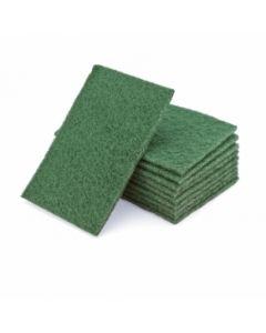 Schuurvlies hand pad grof groen 150x230 mm (10 stuks)