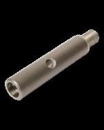 "Rotary extension bar M14 verlengstuk RVS 90 mm (3,5"")"