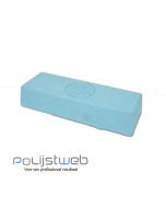 Polijstweb polijstpasta blauw glans