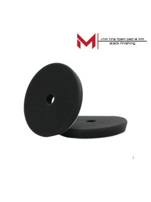 Moore Slim Line polijstpad Zwart Finishing 130/140x18 mm