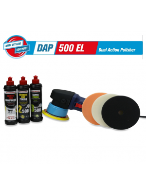 Polishing Power DAP500 EL met Menzerna Starterskit Powerpack