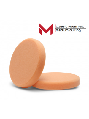 Moore Classic Polijstpad oranje medium cutting 135 mm