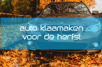 Autolak Beschermen tijdens de Herfst